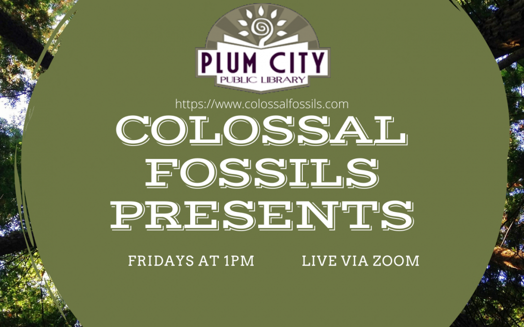 Colossal Fossils Presents…. Women of Science- OCT. 9th
