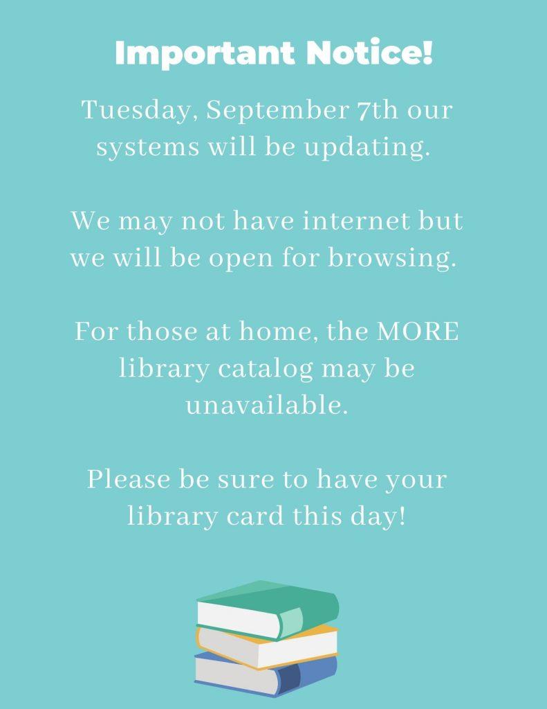 Sept. 7th information
